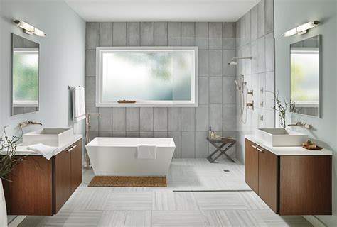 trends in bathroom design bathroom trends 2018 bathroom design trends delta faucet inspired living