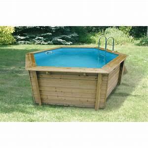 Bache De Paillage Pas Cher : ubbink piscine en bois hexagonale azura 410 cm b che ~ Edinachiropracticcenter.com Idées de Décoration