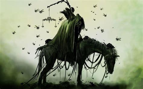 horsemen four horseman horse famine apocalypse knight creepy hd hollow death sleepy dark fantasy rider headless horses pale reaper grim