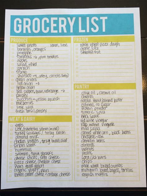 jillian michaels ripped   grocery list  exception