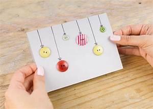 Weihnachtskugeln Selbst Gestalten : weihnachtskarten basteln 6 diy ideen ~ Lizthompson.info Haus und Dekorationen