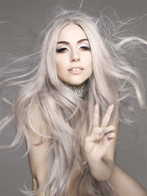 White Hair by Gaga S Gray Silver White Hair Obsession The Past 7