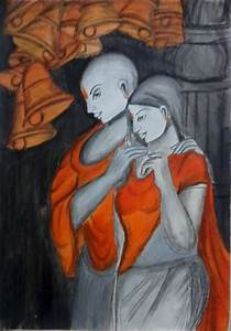 types 12 modern art radha krishna photo in pencil shading With what kind of paint to use on kitchen cabinets for muscle car wall art
