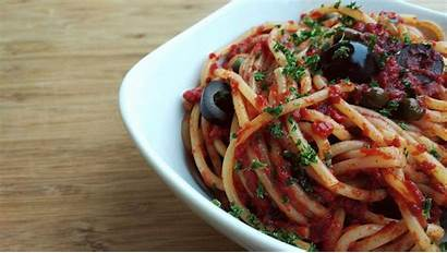 Puttanesca Italian Spaghetti Alla Recipe Does Pasta