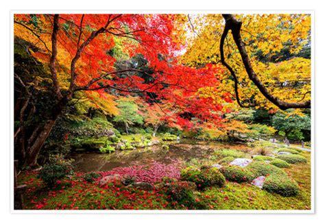 Japanischer Garten Zitat by Japanischer Garten Poster Bestellen Posterlounge