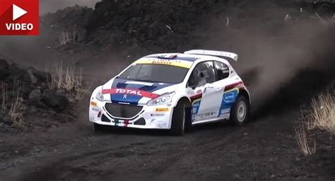 Peugeot Rally Car by Peugeot 208 T16 Rally Car Climb Mount Etna Carscoops
