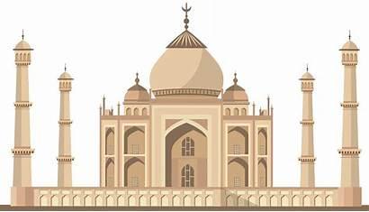 Taj Mahal India Clip Clipart Mosque Transparent