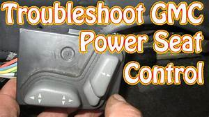 Diy Blazer Gmc Jimmy Power Seat Control Diagnostics And