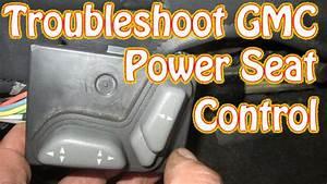 Diy Blazer Gmc Jimmy Power Seat Control Diagnostics And
