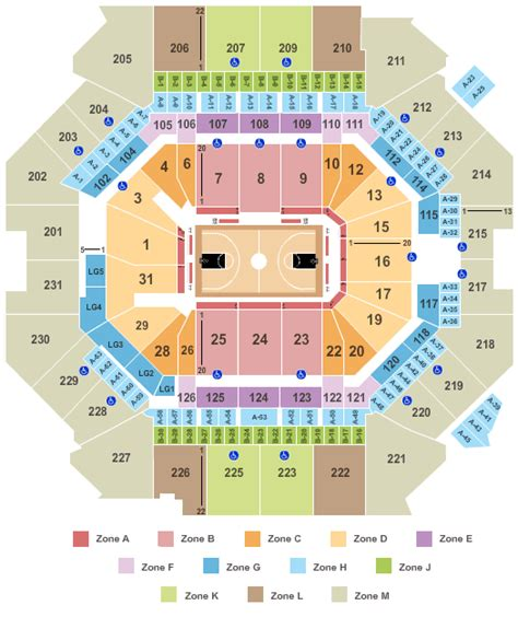 brooklyn nets   seating information team guide