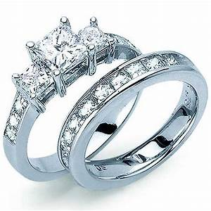 amazoncom princess cut diamond engagement ring set With amazon com wedding rings