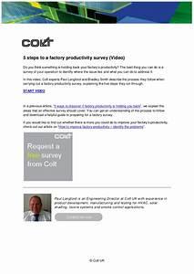 5 steps to a factory productivity survey (VIDEO)