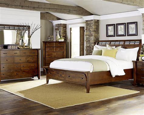 napa furniture design whistler retreat bedroom set