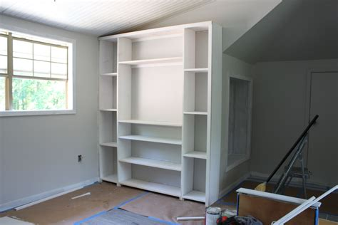 pre built closet cabinets create built in shelving and cabinets on a tight budget