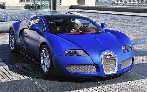 bugatti veyron blue front view supercar  uhd wallpaper