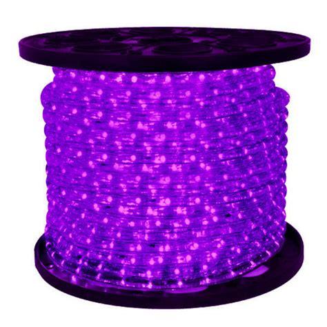 purple led lights led purple rope light 150 ft spool