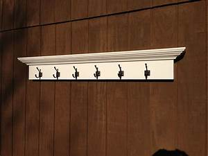 Entry, Way, Coat, Rack, Shelf, With, 6, Hooks, By, Rayscustomwoodwork