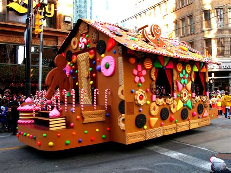 Ginger Bread House Float