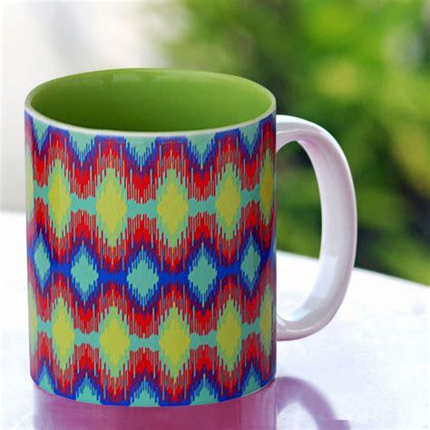 The sweet smell of aroma and taking a sip from. Tamara Spectrum Ikat Coffee Mug - Buy Tamara Spectrum Ikat Coffee Mug on best Price Online