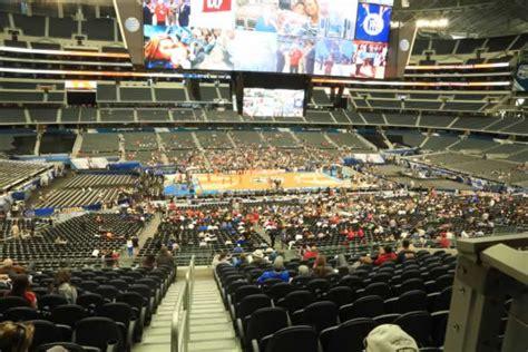 att stadium section  basketball seating rateyourseatscom