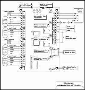 Access Control Card Reader Wiring Diagram Collection