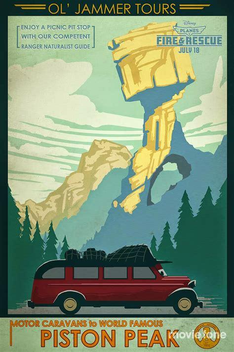 planes  fire  rescue vintage posters teaser trailer