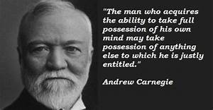 ANDREW CARNEGIE QUOTES image quotes at relatably.com