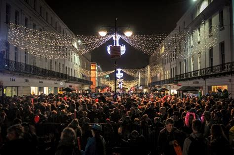 look christmas lights switch on at leamington coventry telegraph