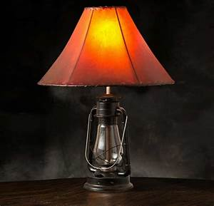 Beautiful rustic table lamps ideas for stylish accent for Stylish lighting