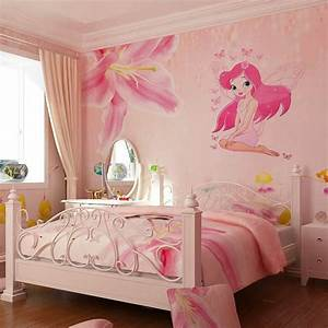 adorable wall stickers for girl bedrooms atzinecom With beautiful pink and green wall decals