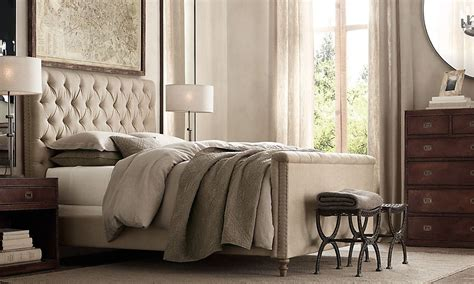Tufted Headboard-restoration Hardware