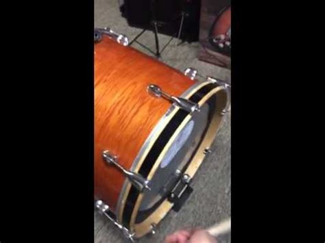 Inch Yamaha Floor Tom Bass Drum First Try Youtube