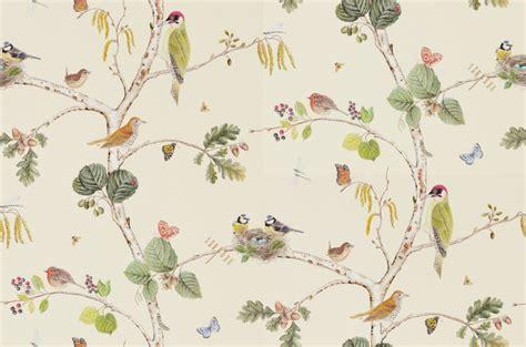 Woodland Animal Wallpaper - 3 rolls 215703 woodland chorus wallpaper sanderson ebay