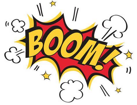 Boom! Pop Art (comic Book Picture Print