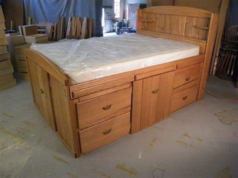 woodworking full size storage bed plans   full size storage bed plans kids beds