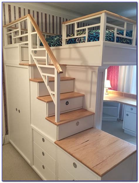 bunk beds with stairs and desk bunk beds with stairs and desk page best home