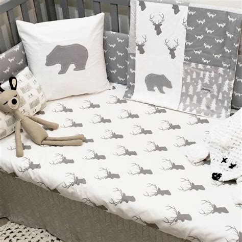 best 25 woodland crib bedding ideas on pinterest crib