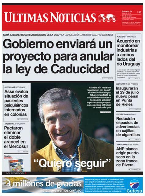 periodico ultimas noticias uruguay periodicos de