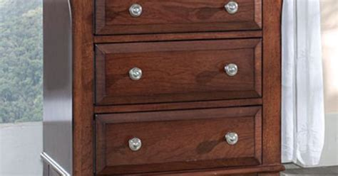 Light Cherry Finish Drawers Feature English Dovetail Construction Top Drawer Lined With Felt Ball Bearing Drawer 36 Full Extension Slides Kids Desk With Drawers Train Set Table Polish Pottery Pulls High Chest Of Glides Lowes Mobile Cart