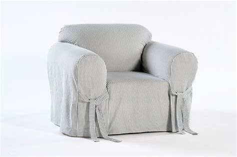 ticking stripe chair the slipcover company