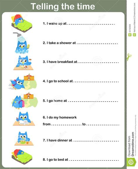 telling time worksheets enchanted learning telling time worksheets enchanted learning free time to