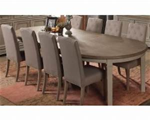 Table 16 Personnes : table ovale ou ronde salle manger ~ Teatrodelosmanantiales.com Idées de Décoration