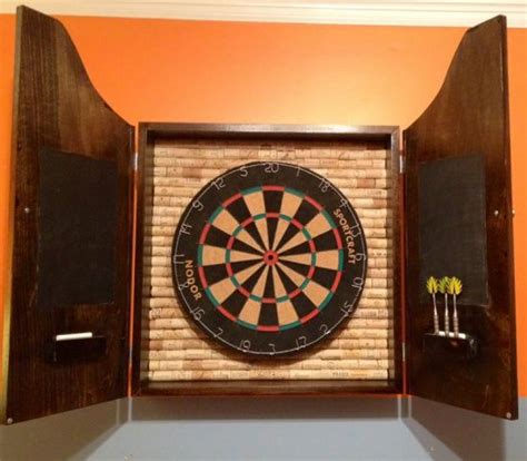 diy dartboard cabinet dartboard cabinet build