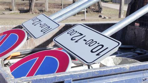 OGRE: demontē pagaidu aizlieguma ceļa zīmes (22.03.2017 ...