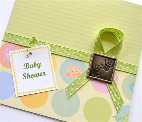 baby shower handmade card ideas lets celebrate