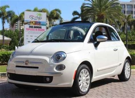 Fiat Miami by In Miami Fiat 500c By Gucci Named Best Small