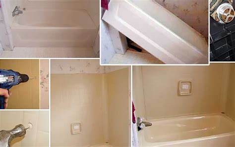replace  repair  mobile home bathtub page