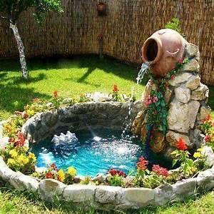 decor de jardin petit bassin avec fontaine deco de With fontaine de jardin moderne 1 une fontaine de jardin design quelques idees en photos
