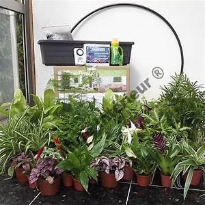 Arrosage Automatique Interieur : 4 kits mur v g tal flowall blanc avec plantes arrosage automatique mat riel mur v g ~ Melissatoandfro.com Idées de Décoration