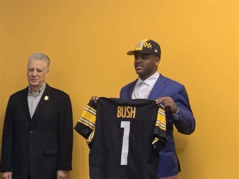 Steelers First Round Pick Devin Bush Selects 55 as Jersey ...